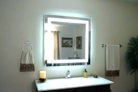 Led Light Mirror Bathroom Light Up Bathroom Mirrors Led Lights Bathroom Mirror