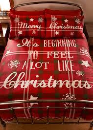 christmas slogan print duvet set 25 35 matalan christmas