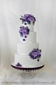 wedding cake essex vintage purple wedding cake cakes by natalie porter
