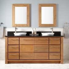 Brown Bathroom Cabinets by Teak Vanities Bathroom Vanities Signature Hardware