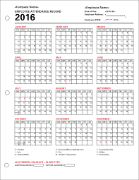 staff holiday planner excel template employee attendance calendar tracker templates 2016 printable employee attendance calendar 2016 tracker templates 2016 employee attendance templates 2016 printable employee