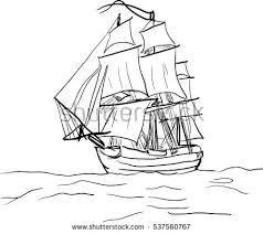 galleon illustration download free vector art stock graphics