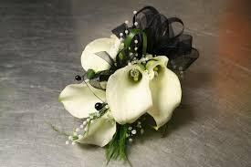 calla corsage the white calla corsage in cherry hill nj flower boutique