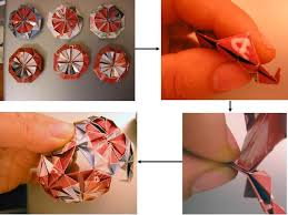 paper ornaments for your tree 12 steps with pictures