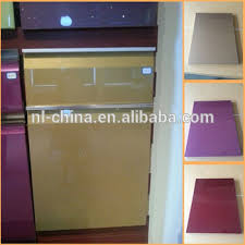 High Quality Round Corner High Gloss Lacquer Kitchen Cabinet Door - High gloss lacquer kitchen cabinets