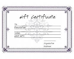 certificate free templates 5 premium gift certificate free templates free u0026 premium templates