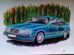 drift cars drawings ct user aked me to draw his volvo
