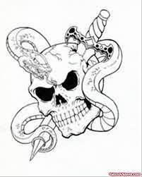skull and snake design viewer com