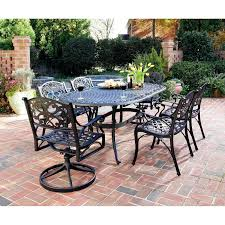 powder coated aluminum outdoor dining table patio ideas cast aluminum outdoor furniture sets painting powder