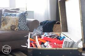 Storing Toys In Living Room - 10 simple ways to organize toys