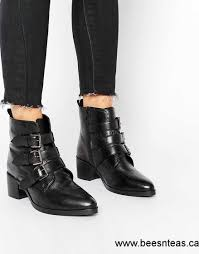 womens wide ankle boots canada asos each and everyone wide fit leather ankle boots
