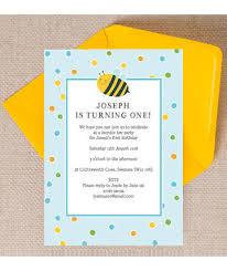 bumble bee kids invites u0026 stationery