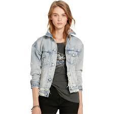 Denim And Supply Jacket Denim U0026 Supply Ralph Lauren Patchwork Trucker Jean Jacket