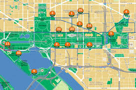 Washington Dc Attractions Map How The Old Town Trolley Washington Dc Route Works