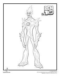 ben 10 coloring pages swampfire coping skills ben