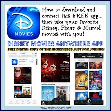 how to access disney movies you u0027ve already purchased on free