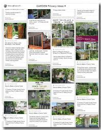 Landscaping Ideas For Backyard Privacy Privacy Fence U0026 Screen Ideas For The Garden Empress Of Dirt