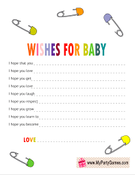 wishes for baby cards free printable wishes for baby cards