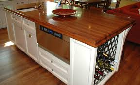 kitchen island with wine rack kitchen island wine storage traditional chicago by for ideas 1