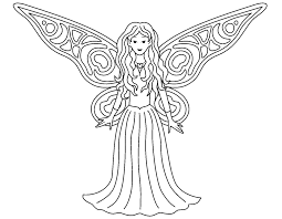 coloring pages free printable fairy coloring pages in pdf free
