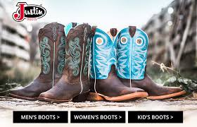 s boots justin boots