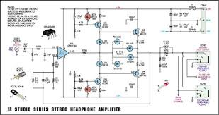 studio series stereo headphone amplifier circuit diagram jpg