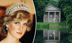 Princess Diana S Grave Where Is Princess Diana Buried Island Grave Renovated To Mark