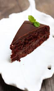 sachertorte chocolate cake with layers of apricot filling must
