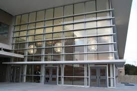 entry vestibule adamson high school ag e structural engenuity