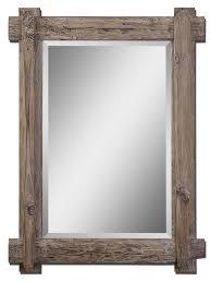 rustic wood framed wall mirror u2022 bathroom mirrors and wall mirrors