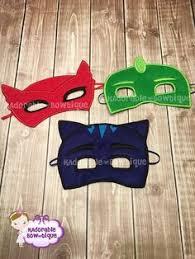 pj masks inspired hoodie zip jacket kids sizes gekko