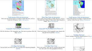 map skills worksheets from enchanted learning u2013 home education