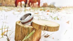 Stag Head Designs Of Wood And Antlers The Perfect Wedding Ring Bowhunting Com