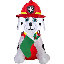 gemmy airblown inflatables christmas inflatable marshall with