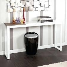 White Hallway Table Narrow Hallway Furniture Medium Size Of Console White Narrow