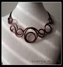 copper colored chain necklace images Aluminium copper color aluminum jewelry necklace jewelry copper jpg