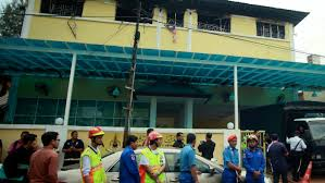 motoring malaysia tech talk the malaysia fire 24 die in blaze at unlicensed islamic the