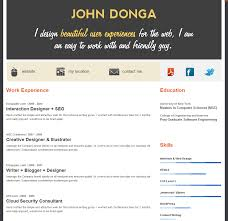Free Resume Templates Online by Free Cv Writer Software Download