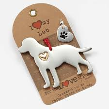 labrador retriever holiday ornament u0026 collar charm set black lab