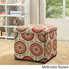 homepop fashion storage ottoman free shipping today overstock