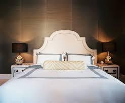 Upholstered White Headboard by Best 25 White Upholstered Headboard Ideas On Pinterest Grey
