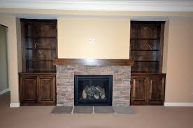 built in fireplace flanker custom homes by tompkins construction