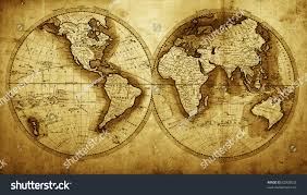 Antique World Map by Antique Map World Circa 1711 Year Stock Photo 82008532 Shutterstock