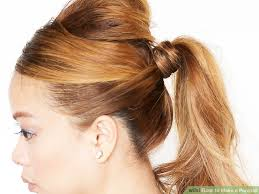 4 Ways To Make A Ponytail Wikihow