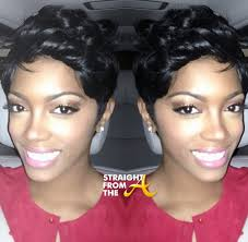 what is porsha stewart hair line or weaves porsha new doo alert porsha stewart sheds her weave and comes up