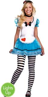Light Halloween Costumes Teen Girls Wonderland U0027s Light Light Alice Costume Party