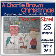 brown christmas poster a brown christmas poster graphing on the coordinate plane