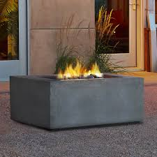 t9620ng glg baltic square natural gas fire table in glacier gray