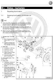 volkswagen golf 5 v 2004 2009 factory repair manual