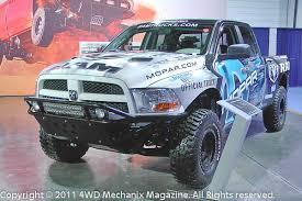 dodge truck racing moses ludel s 4wd mechanix magazine 2011 sema mopar